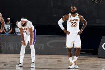 Lakers LeBron Davis semanas
